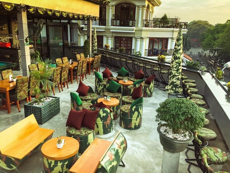 Sline Cafe Bar - quán cafe có đồ uống ngon ở Huế