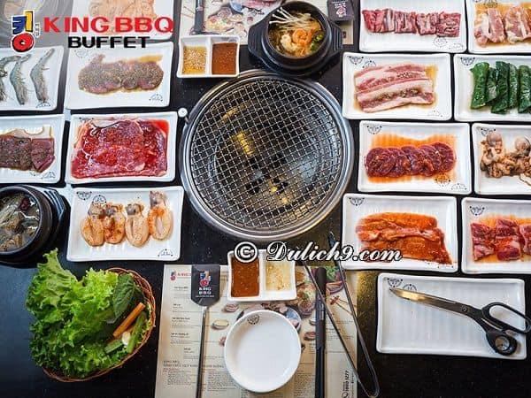 Quán nướng Hàn Quốc ngon ở Quận 1 TP Hồ Chí Minh. Quán ăn Hàn Quốc nổi tiếng ở quận 1, Sài Gòn