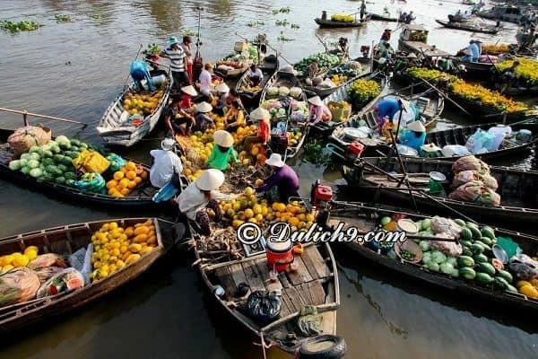 Chợ Cái Bè - Tiền Giang/ địa điểm du lịch hấp dẫn ở miền Tây dịp lễ 30/4