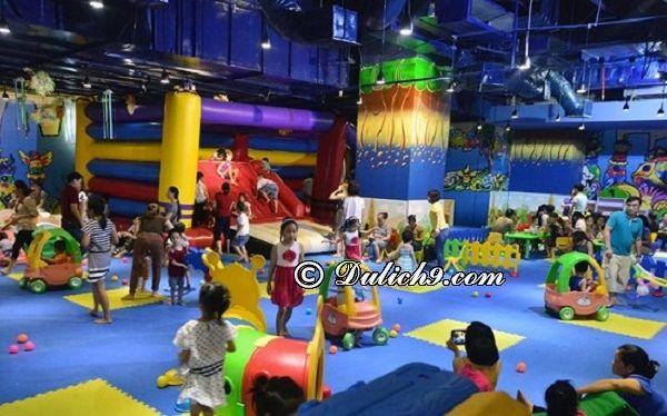 Khu vui chơi cho trẻ em ở Hà Nội dịp nghỉ lễ 30/4 và 1/5. Những địa điểm vui chơi dịp 30/4 - 1/5 ở Hà Nội cho trẻ em