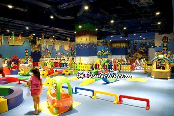Khu vui chơi cho trẻ em dịp nghỉ lễ 30/4 và 1/5 ở Hà Nội. Nên cho trẻ em đi đâu chơi dịp 30/4 - 1/5 ở Hà Nội?