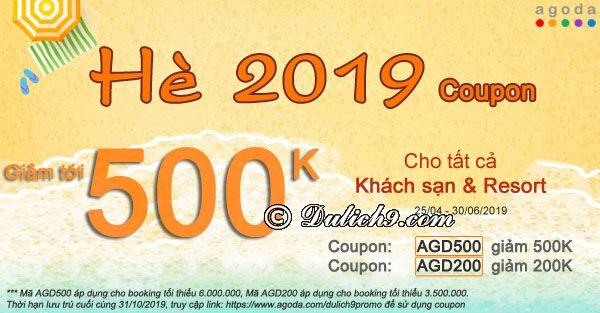 Agoda coupon 2019, mã giảm giá Agoda 2019