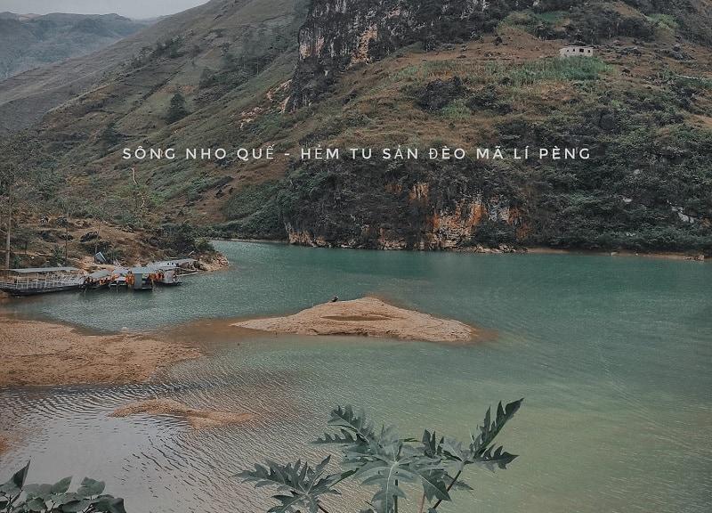 Địa điểm phượt Hà Giang, sông Nho Quế