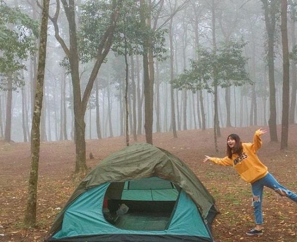 Thuê lều cắm trại ở Ba Vì giá rẻ: Địa chỉ, giá thuê lều trại ở Ba Vì