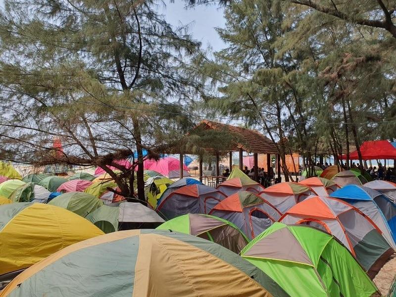 Giá cả dịch vụ tại Cảnh Dương Beachcamp
