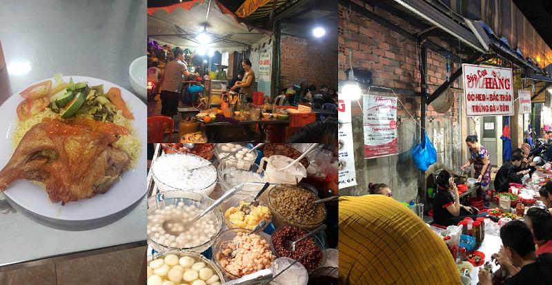 Con đường ăn uống ở Sài Gòn. Khu ẩm thực TP Hồ Chí Minh