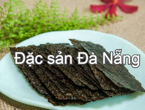 Đà Nẵng có đặc sản gì? Món ăn ngon Đà Nẵng. Rong biển