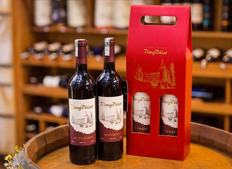 Đặc sản Đà Lạt làm quà, rượu vang Đà Lạt