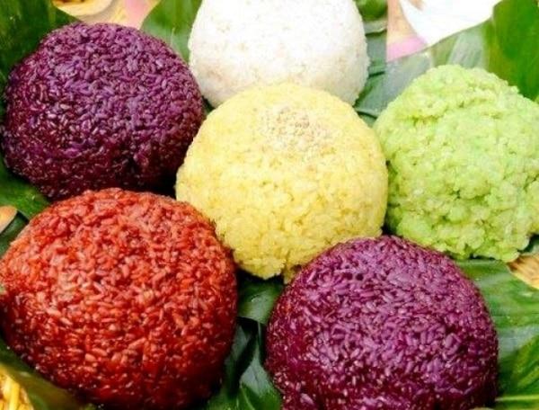 Đặc sản Sapa nổi tiếng nhất, xôi bảy màu