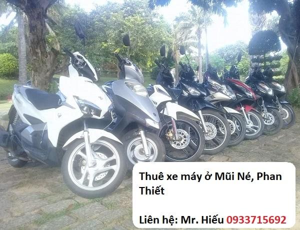 Địa chỉ thuê xe máy ở Mũi Né, Phan Thiết: Thuê xe máy ở đâu Mũi Né, Phan Thiết