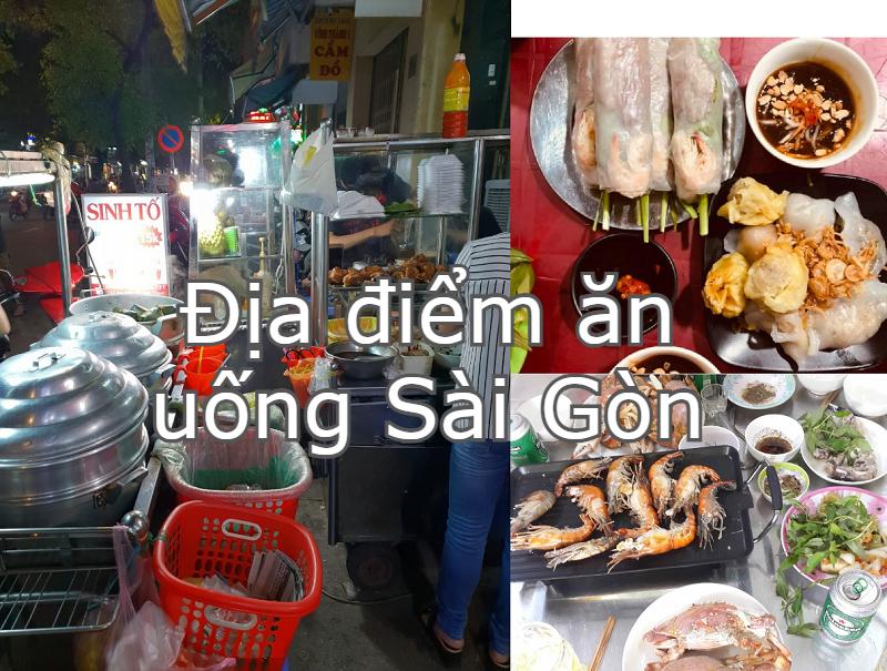 Địa điểm ăn uống Sài Gòn ngon, bổ, rẻ. Khu ăn vặt ở TP HCM. Đường Vạn Kiếp