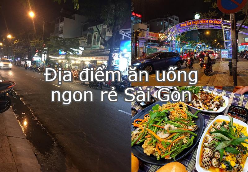Địa điểm ăn uống Sài Gòn ngon rẻ. Đi Sài Gòn ăn ở đâu ngon? Đường Vĩnh Khánh