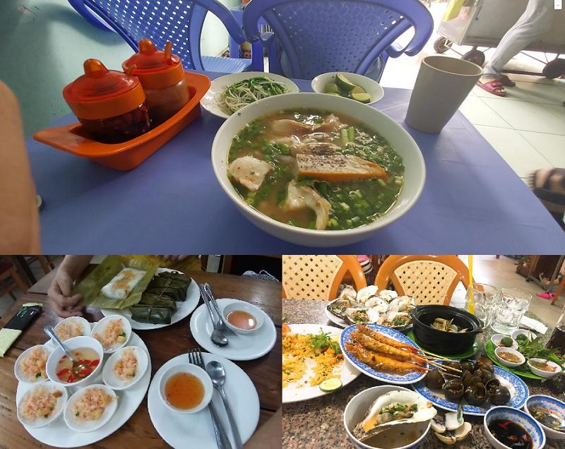 Địa điểm ăn uống ngon ở TPHCM. Khu ẩm thực Sài Gòn giá rẻ. Đường Phan Văn Hân
