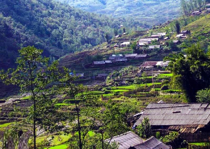 Địa điểm du lịch Sapa, bản làng ở Sapa, bản Sín Chải