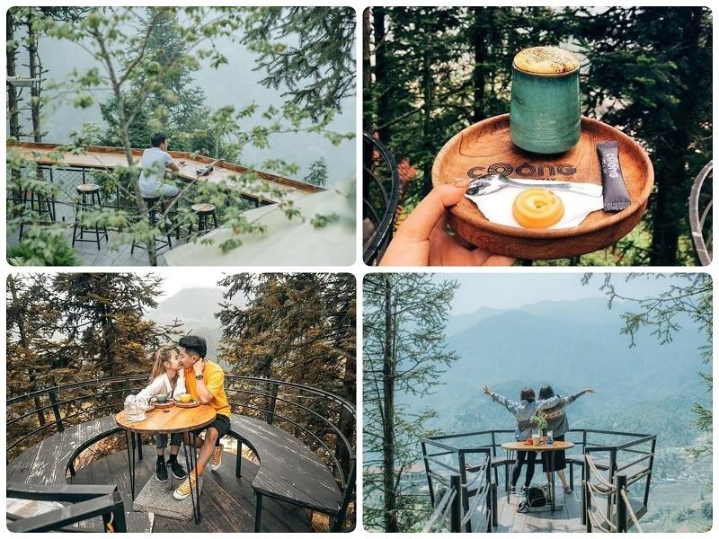 Địa điểm du lịch Sapa, địa điểm check in đẹp Sapa, Coóng Coffee Homestay