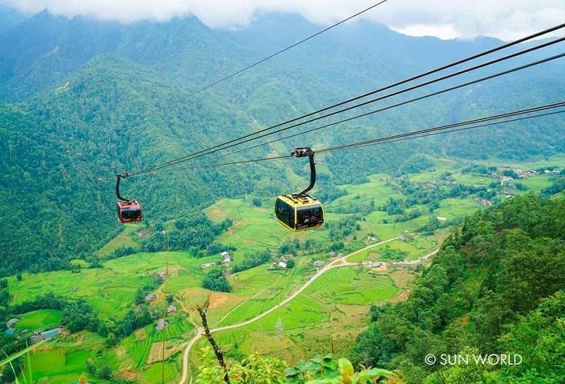 Các địa điểm du lịch ở Sapa, cáp treo Fansipang