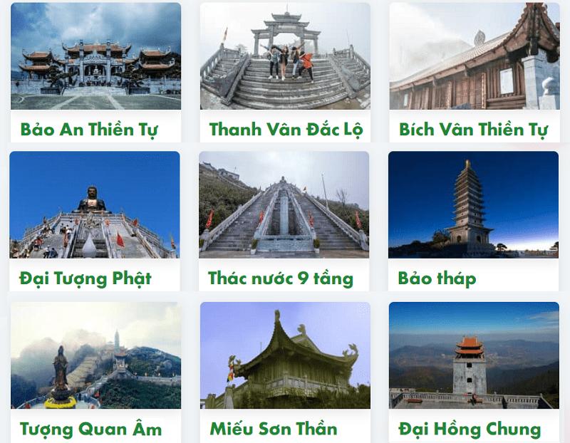 Sapa có gì đẹp? Các ngôi chùa, đền thờ trên đỉnh Fansipang