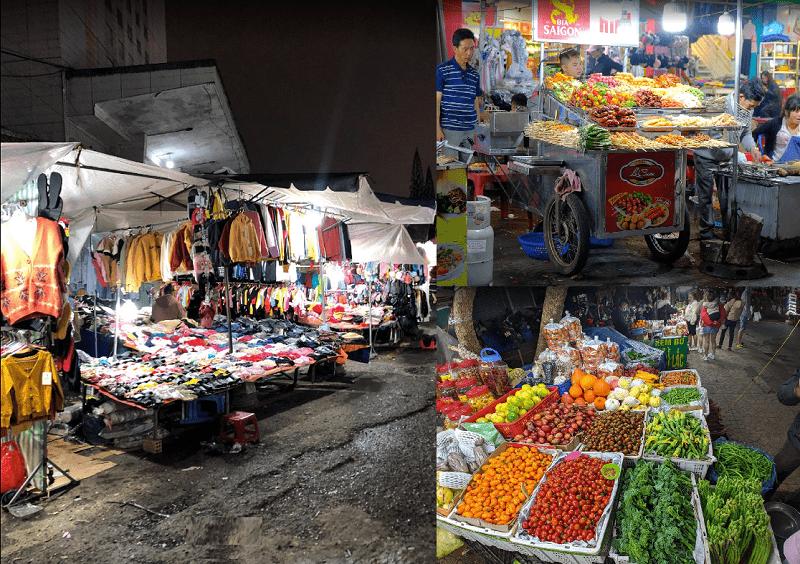 Địa điểm vui chơi Đà Lạt. Chợ đêm Đà Lạt