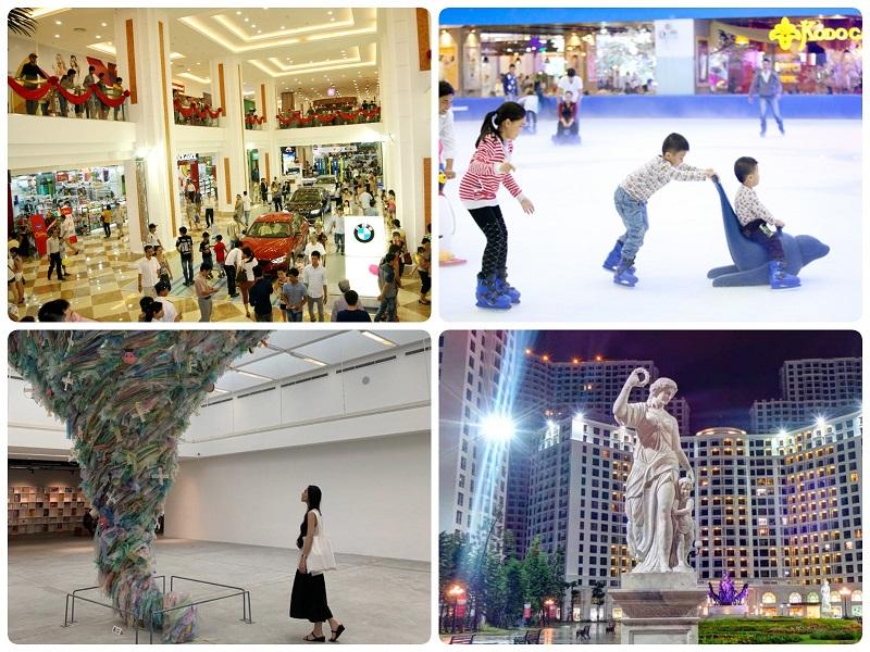 Chơi gì ở Hà Nội? Trung tâm thương mại Royal City