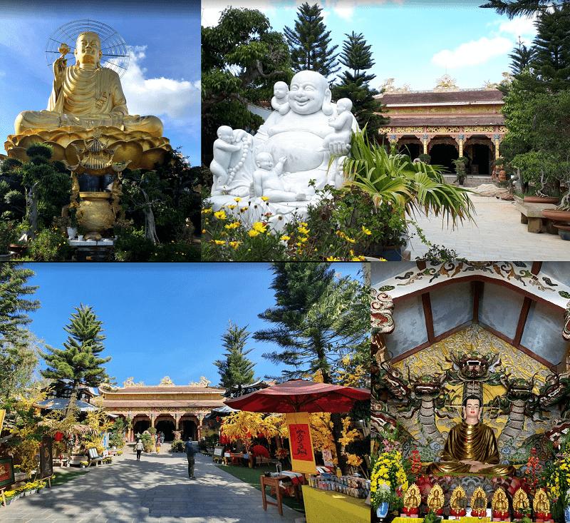 Du lịch Đà Lạt nên đi đâu, chơi gì? Thiền viện Vạn Hạnh