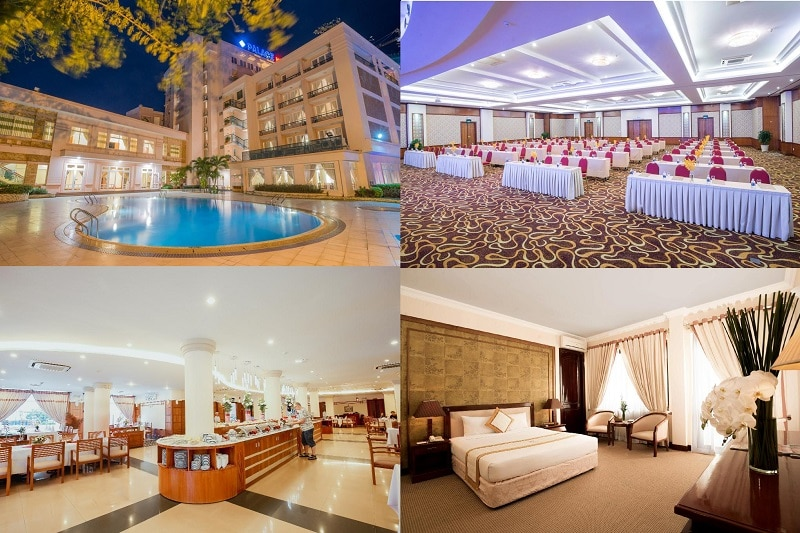 Khách sạn bình dân ở Vũng Tàu đẹp, có bể bơi, gần biển. Nên ở khách sạn nào Vũng Tàu? Palace Hotel