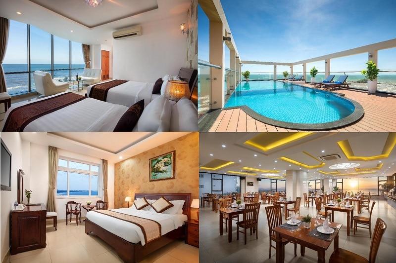 Khách sạn đẹp ở Vũng Tàu có hồ bơi ngoài trời. Nên ở khách sạn nào Vũng Tàu? Corvin Hotel