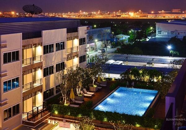 Khách sạn gần sân bay Suvarnabhumi Bangkok tiện nghi đầy đủ, chất lượng tốt. Gần sân bay Suvarnabhumi Bangkok có khách sạn nào đẹp, giá bình dân?