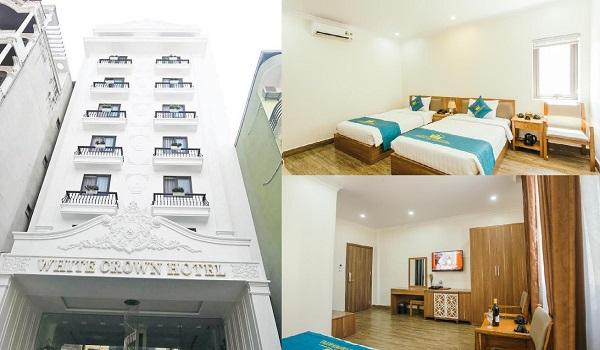 Khách sạn giá rẻ ở Hạ Long phòng đẹp, tiện nghi, gần biển. Nên ở khách sạn nào Hạ Long? White Crown