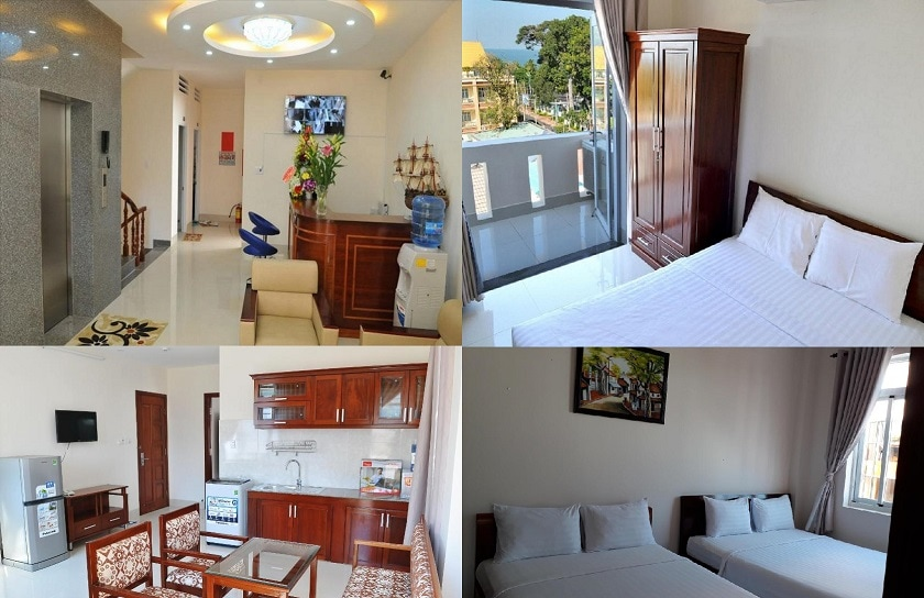 Khách sạn giá rẻ ở Vũng Tàu gần bãi trước. Review các khách sạn đẹp, giá tốt ở Vũng Tàu. Hoa Sen Hotel