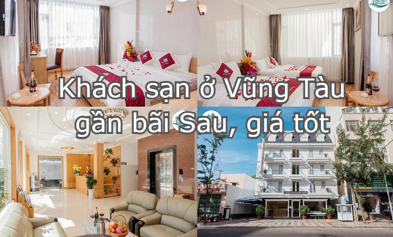 Khách sạn ở Vũng Tàu giá rẻ, gần bãi sau nên đặt phòng. Khách sạn Novena
