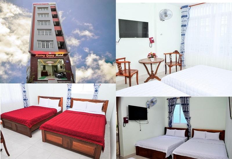 Khách sạn ở Vũng Tàu giá rẻ, gần biển. Khách sạn Hương Giang bãi sau Vũng Tàu