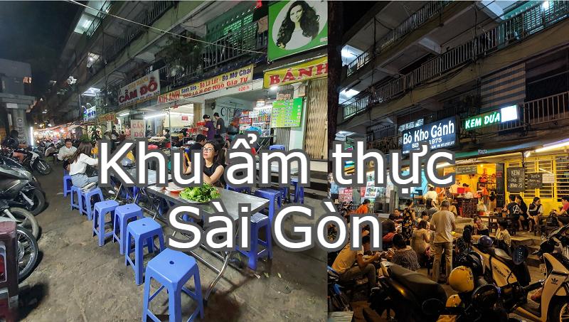 Khu ẩm thực Sài Gòn ngon, nổi tiếng, giá bình dân. Địa điểm ăn chơi Sài Gòn. Đường Sư Vạn Hạnh