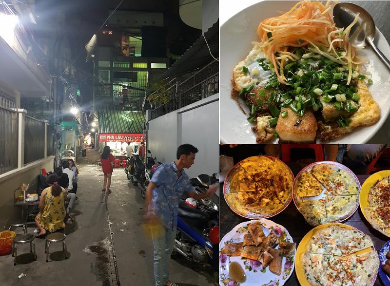 Khu ăn uống ngon rẻ Sài Gòn. Đến Sài Gòn ăn gì, ăn ở đâu ngon? Khu ăn vặt Cao Thắng - Bàn Cơ