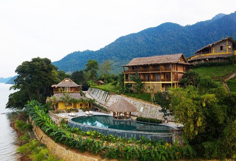 Kinh nghiệm du lịch Mai Châu, resort ở Mai Châu, Mai Châu HideAway Resort