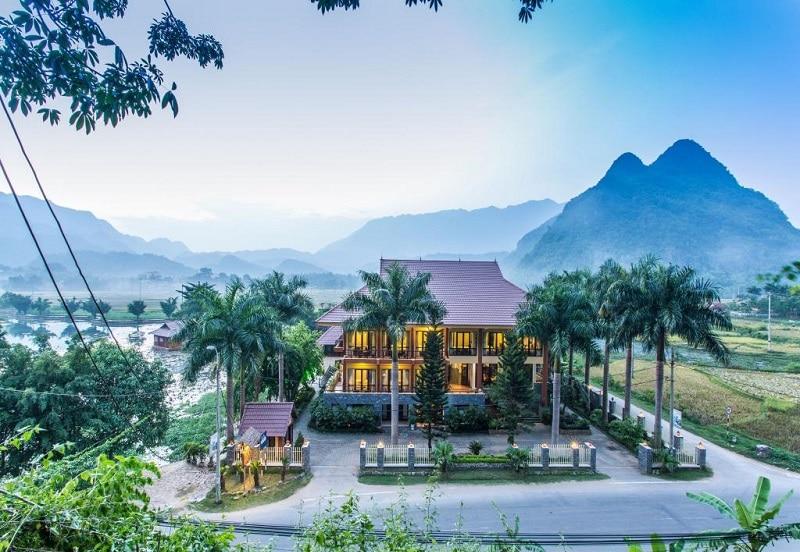 Kinh nghiệm đi Mai Châu, khách sạn ở Mai Châu, Du lịch Mai Châu nên ở đâu? Mai Chau Lodge