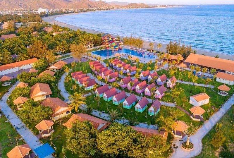 Kinh nghiệm du lịch Ninh Thuận, khách sạn ở Ninh Thuận, Khu nghỉ dưỡng TTC- Ninh Thuận