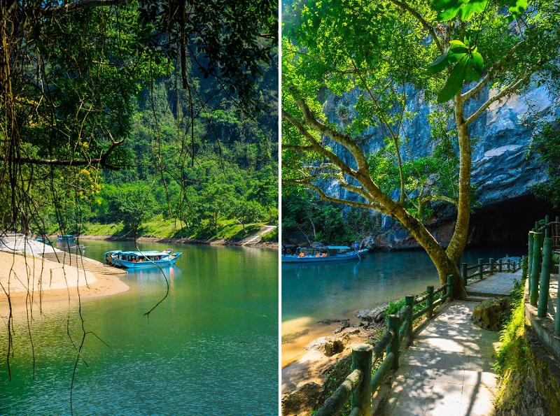 Kinh nghiệm du lịch Phong Nha Kẻ Bàng, khách sạn gần Phong Nha Kẻ Bàng