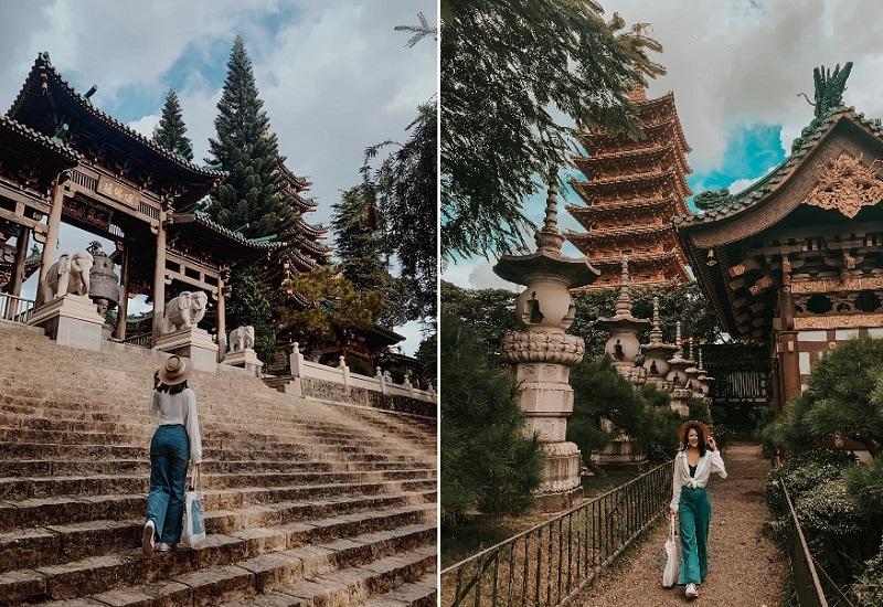 Địa điểm du lịch Tây Nguyên, chùa Minh Thành ở Gia Lai