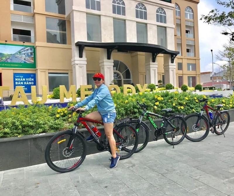 Lịch trình tham quan, vui chơi khi du lịch Vũng Tàu. Thuê xe đạp đôi khi du lịch Vũng Tàu