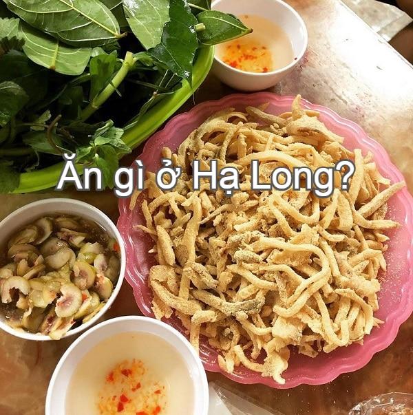 Món ẩm thực Hạ Long. Đặc sản nem Quảng Yên. Ăn gì ở Hạ Long?