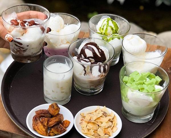 Đặc sản Hạ Long, món ăn vặt Hạ Long, sữa chua trân châu Hạ Long