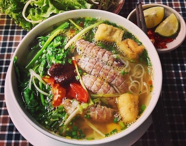 Món ăn ngon ở Hạ Long, đặc sản Hạ Long, bún bề bề