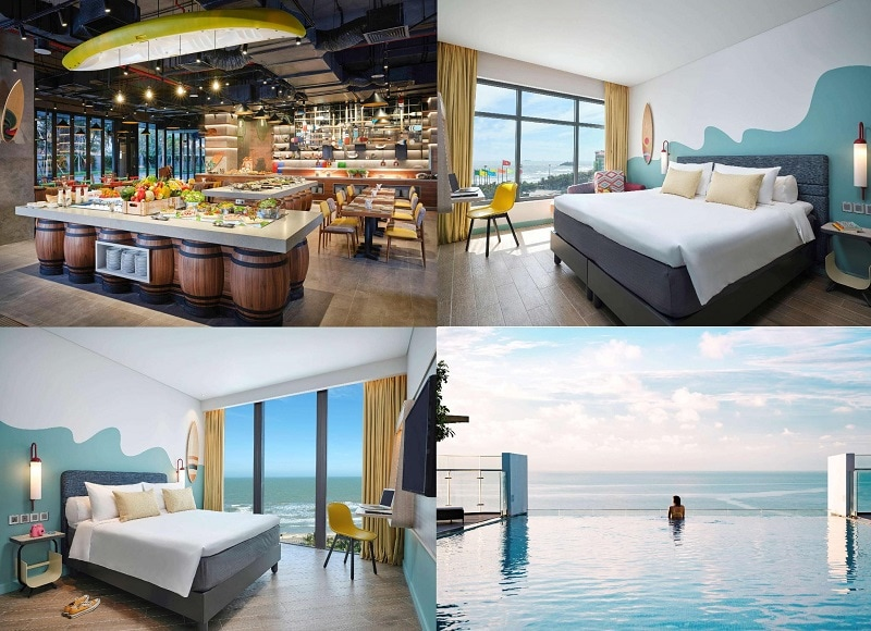 Những khách sạn đẹp nhất Vũng Tàu hiện nay. Khách sạn cao cấp ven biển Vũng Tàu