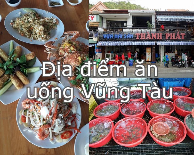Quán ăn ngon ở Vũng giá bình dân. Địa điểm ăn uống Vũng Tàu. Vựa hải sản Thành Phát