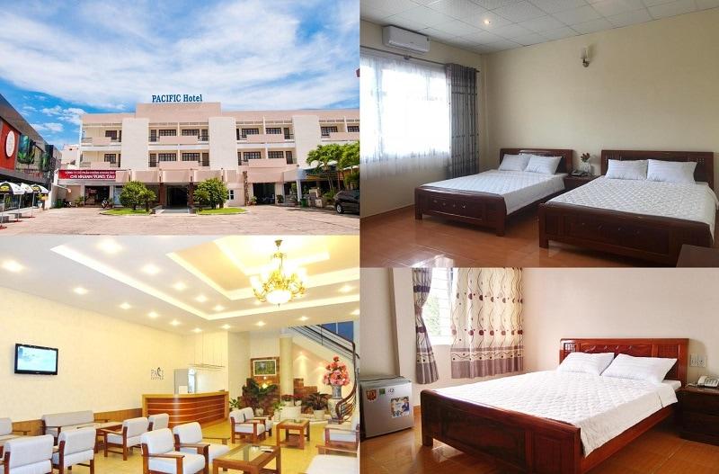Review các khách sạn ở Vũng Tàu giá rẻ, tiêu chuẩn 2 sao. Khách sạn Pacific Hotel