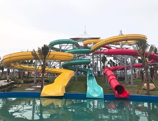 Công viên nước Thanh Hà giá vé, giờ mở cửa: Review công viên nước Thanh Hà