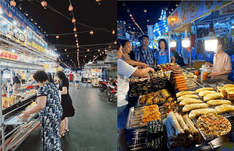 Địa điểm ăn chơi Phú Quốc ngon, bổ, rẻ. Đi đâu, ăn gì ở Phú Quốc? Chợ đêm Phú Quốc