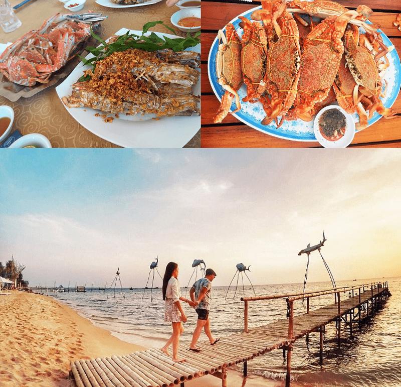 Địa điểm ăn uống Phú Quốc ngon, view đẹp. Ăn ở đâu Phú Quốc?