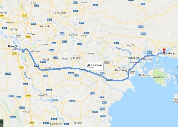Hướng dẫn du lịch Hạ Long 3 ngày 2 đêm: Từ Hà Nội tới Hạ Long bằng phương tiện gì, đi đường nào?