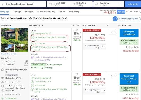 Kinh nghiệm đặt khách sạn ở Phú Quốc: Nên đặt phòng khách sạn ở đâu Phú Quốc?